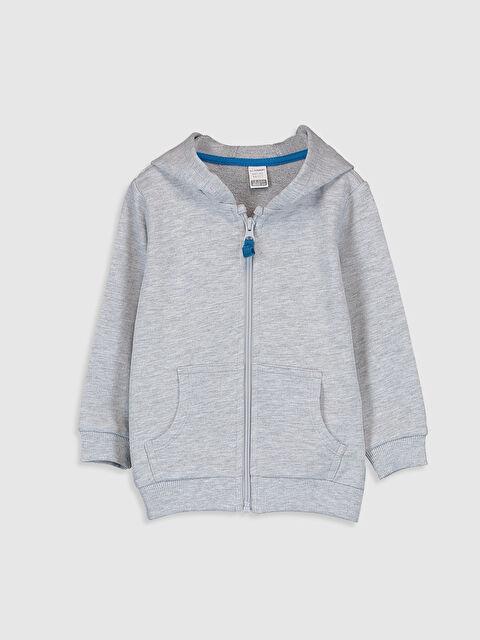Erkek Bebek Kapüşonlu Sweatshirt - LC WAIKIKI