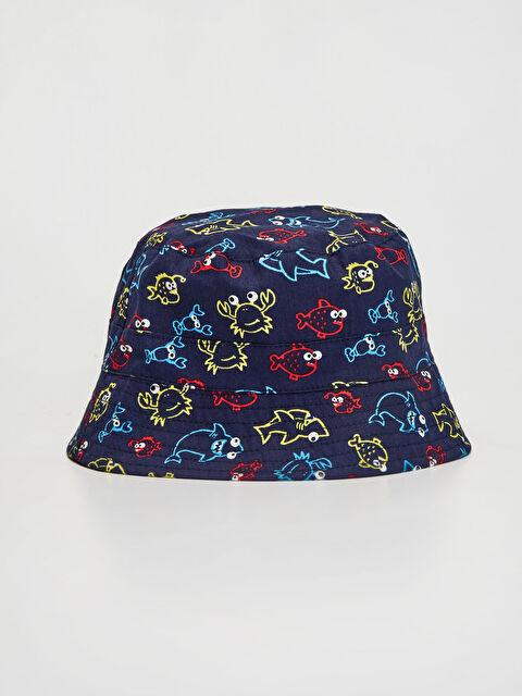 Erkek Bebek Baskılı Kova Şapka - LC WAIKIKI