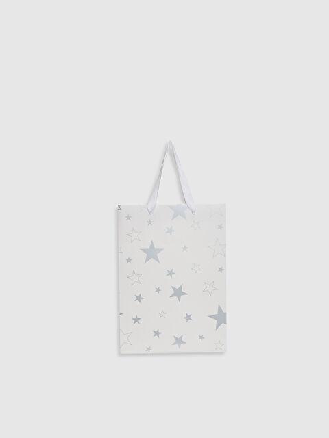 Erkek Bebek Desenli Hediyelik Karton Çanta - LC WAIKIKI