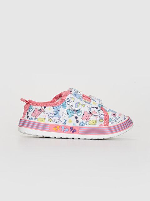 Kız Bebek Cırt Cırtlı Günlük Ayakkabı - LC WAIKIKI
