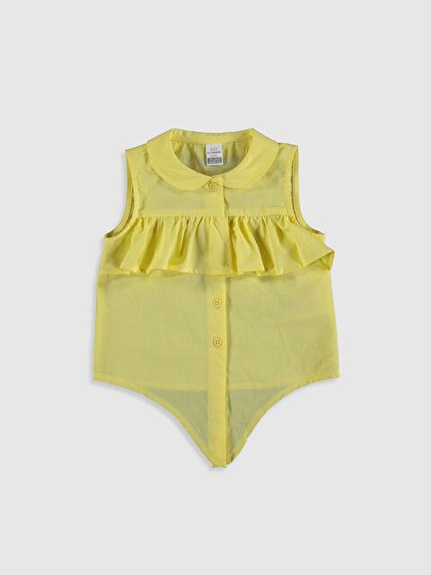 Kız Bebek Fırfırlı Bluz - LC WAIKIKI