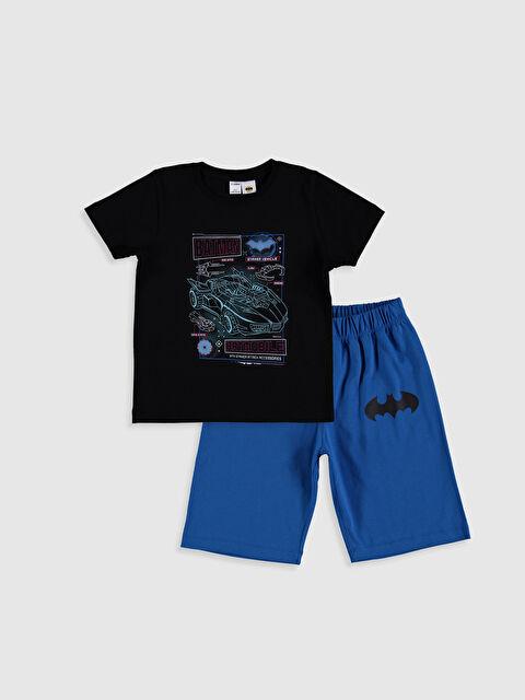 Erkek Çocuk Batman Baskılı Pijama Takımı - LC WAIKIKI