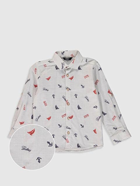 Erkek Çocuk Desenli Gömlek - LC WAIKIKI