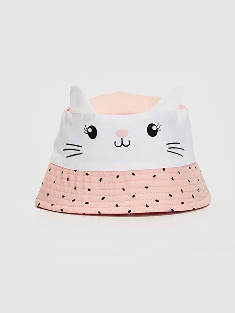Kız Bebek Baskılı Şapka - LC WAIKIKI