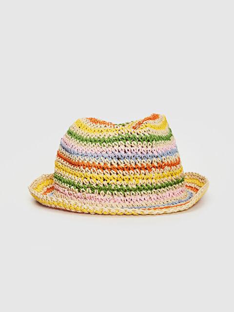 Kız Çocuk Hasır Fötr Şapka - LC WAIKIKI