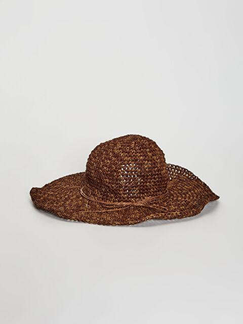 Aksesuar Detaylı Hasır Fötr Şapka - LC WAIKIKI