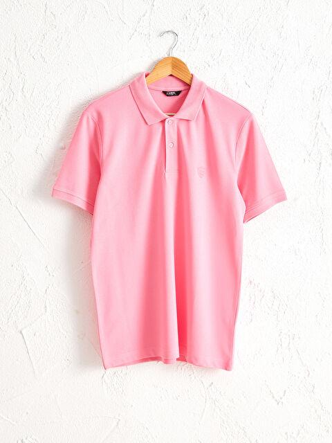 Polo Yaka Basic Pike Tişört - LC WAIKIKI