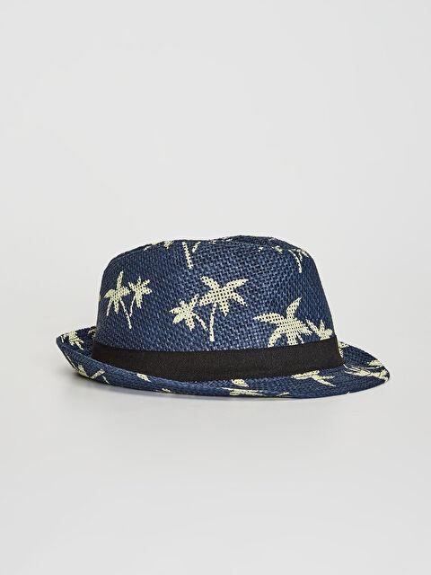 Erkek Çocuk Biye Detaylı Fötr Şapka - LC WAIKIKI