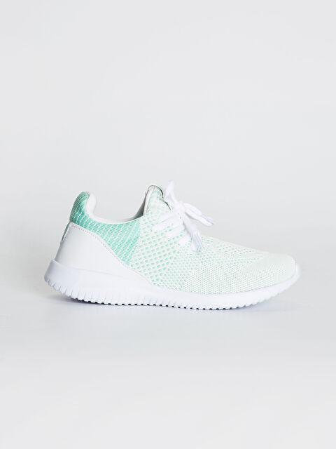 Kadın Triko Bağcıklı Aktif Spor Ayakkabı - LC WAIKIKI