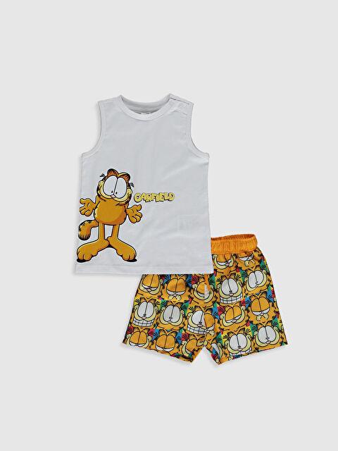 Erkek Bebek Garfield Baskılı Yüzme Takım - LC WAIKIKI