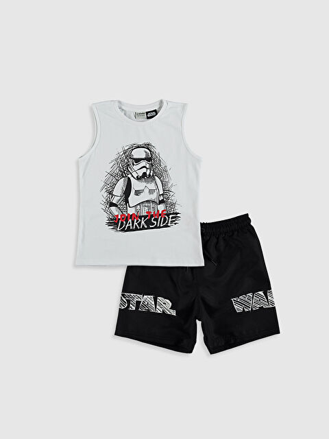 Erkek Çocuk Star Wars Yüzme Takım - LC WAIKIKI