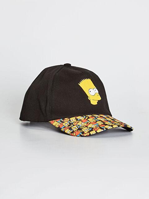 Erkek Çocuk Simpson Lisanslı Şapka - LC WAIKIKI