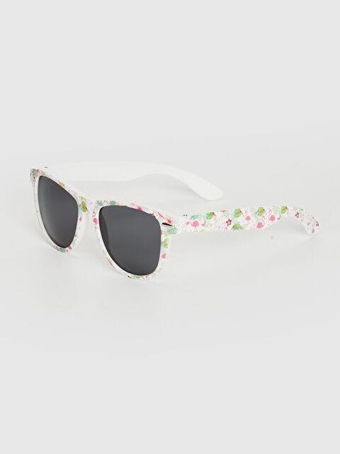 Kız Çocuk Flamingo Baskılı Güneş Gözlüğü - LC WAIKIKI