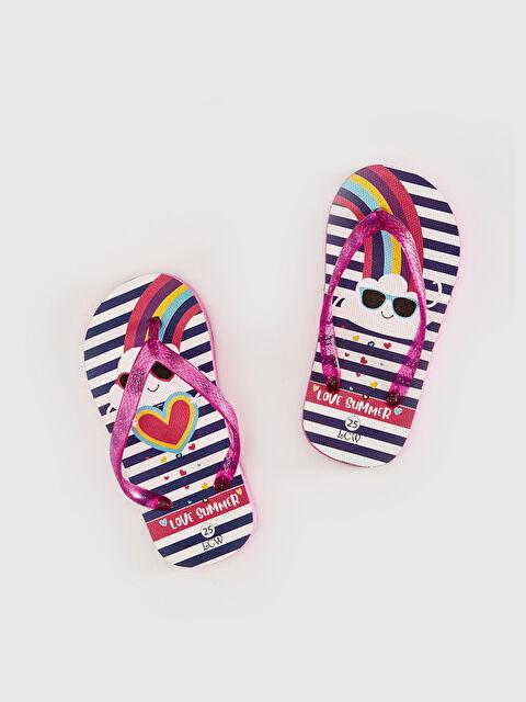 Kız Çocuk Parmak Arası Plaj Terliği - LC WAIKIKI