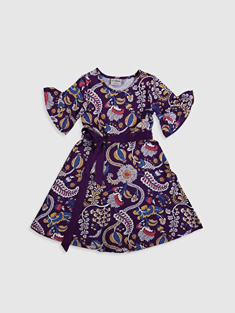 Kız Çocuk Kuşaklı Elbise - LC WAIKIKI