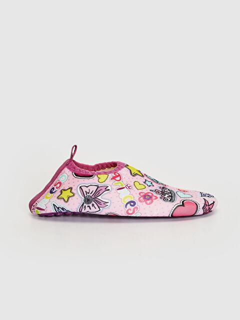 Kız bebek Baskılı Deniz Ayakkabısı - LC WAIKIKI