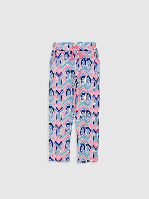 Kız Çocuk Desenli Pantolon - LC WAIKIKI