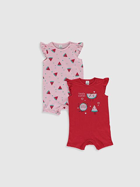 Kız Bebek Pamuklu Tulum 2'li - LC WAIKIKI