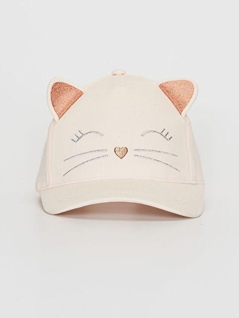 Kız Çocuk Nakış Detaylı Ter Bantlı Şapka - LC WAIKIKI