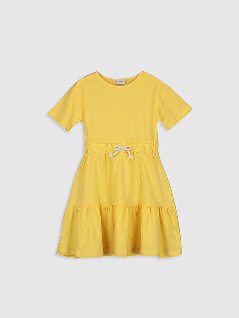 Kız Çocuk Pamuklu Basic Elbise - LC WAIKIKI