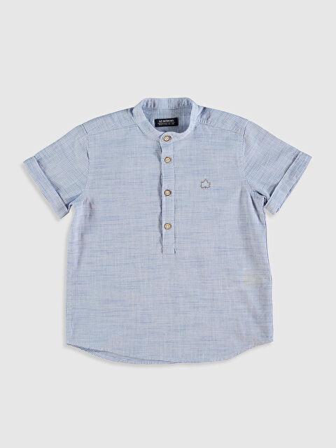 Erkek Çocuk Pamuklu Gömlek - LC WAIKIKI