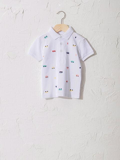 Erkek Bebek Pamuklu Baskılı Tişört - LC WAIKIKI
