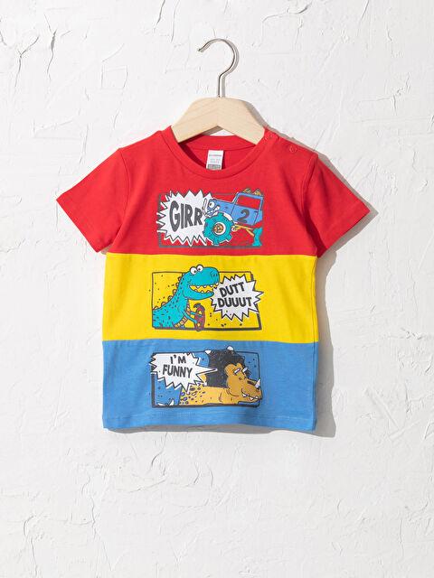majica sa otiskom, za dečake (bebe) - LC WAIKIKI