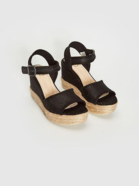 Kadın Platform Taban Hasır Sandalet - LC WAIKIKI