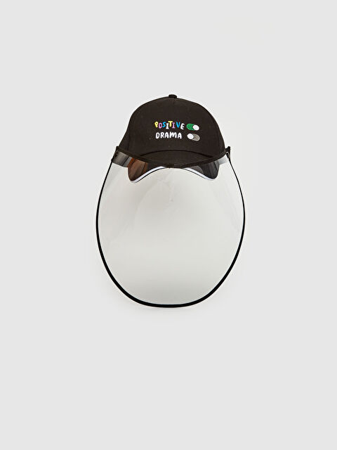 Kız Çocuk Siperlikli Yüz Koruyucu Şapka - LC WAIKIKI