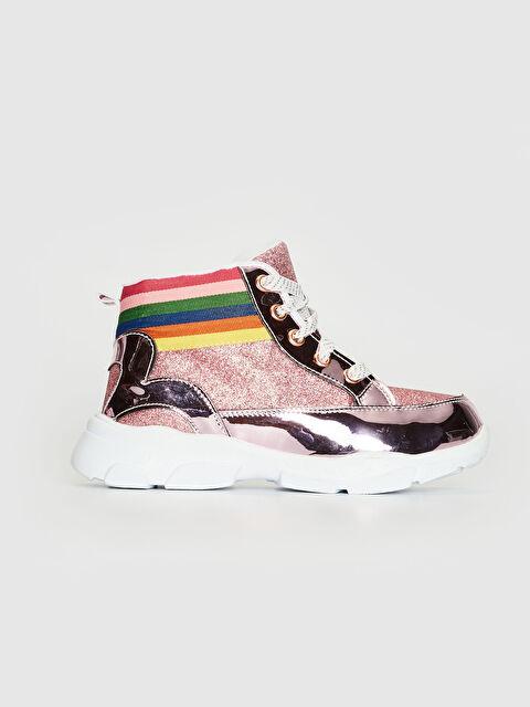 Kız Çocuk Hologram Detaylı Sneaker - LC WAIKIKI