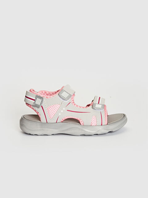 Kız Çocuk Cırt Cırtlı Sandalet - LC WAIKIKI