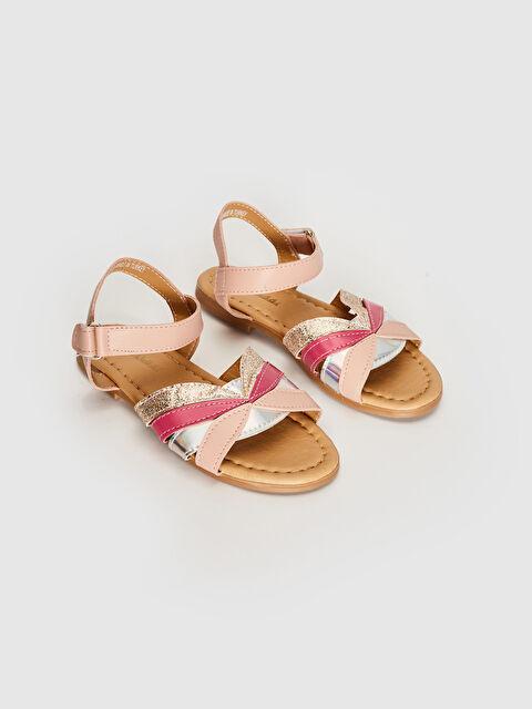 Kız Çocuk Simli Sandalet - LC WAIKIKI