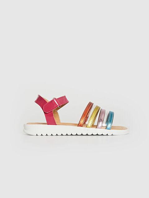 Kız Çocuk Renkli Şık Sandalet - LC WAIKIKI