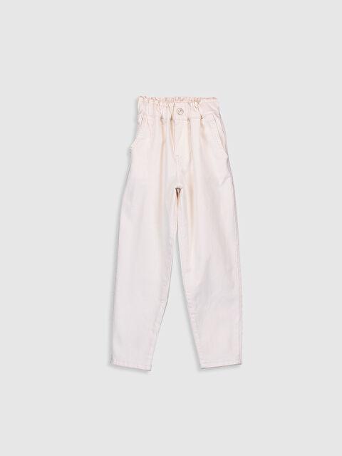 Kız Çocuk Beli Lastikli Pantolon - LC WAIKIKI