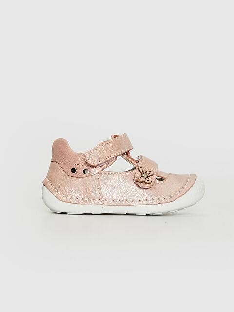 Kız Bebek Hakiki Deri İlk Adım Ayakkabısı - LC WAIKIKI