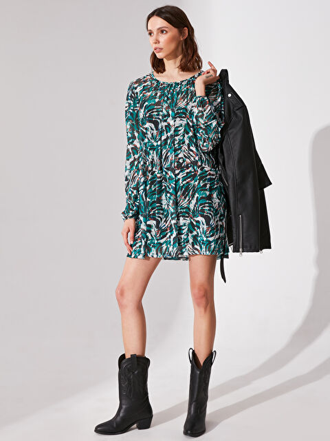 Re-SIS Çiçek Desenli Mini Elbise - Markalar