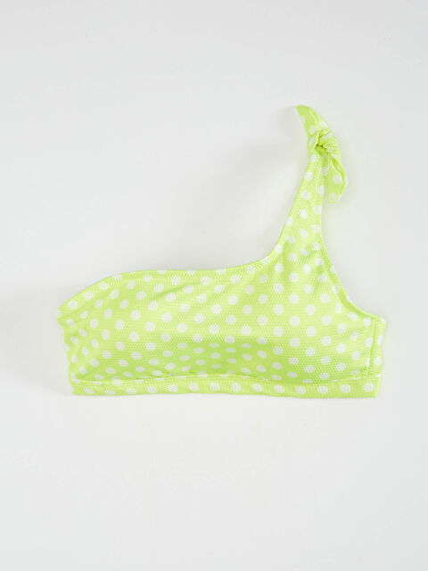 Puantiyeli Tek Omuz Bikini Üst - LC WAIKIKI