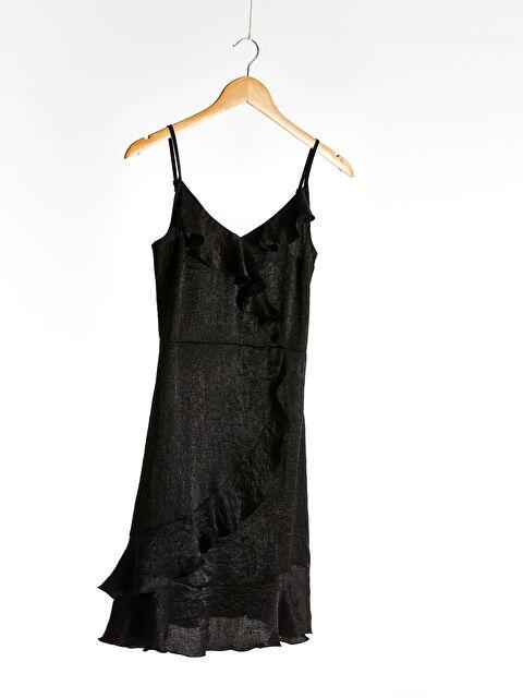 Askılı Fırfır Detaylı Elbise - LC WAIKIKI