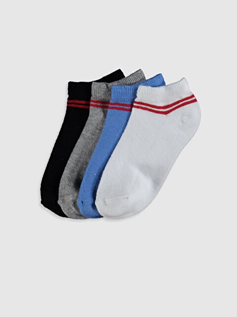 Erkek Çocuk Patik Çorap 4'lü - LC WAIKIKI
