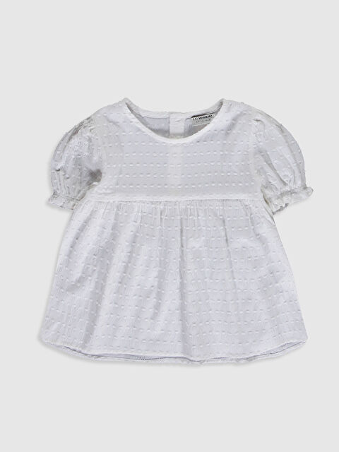 Kız Çocuk Poplin Bluz - LC WAIKIKI