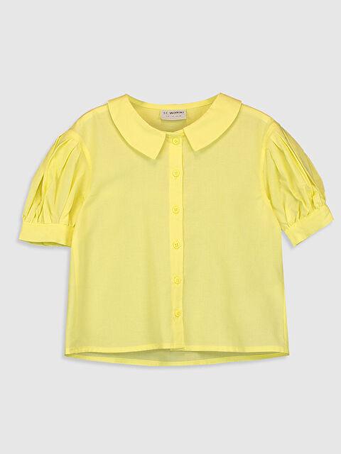 Kız Çocuk Poplin Gömlek - LC WAIKIKI