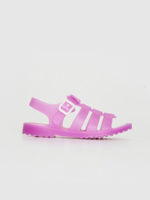 Kız Bebek Tokalı Sandalet - LC WAIKIKI