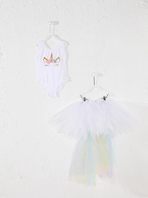 Tameris Kız Çocuk Baskılı Kostüm - Markalar