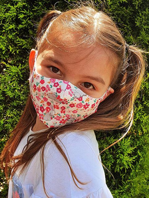 8-14 Yaş Kız Çocuk Yıkanabilir Yüz Maskesi 2'li - LC WAIKIKI
