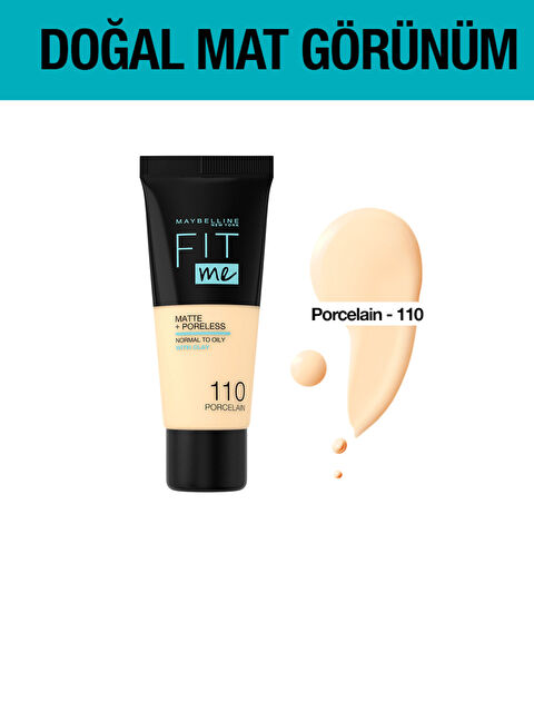 Maybelline New York Fit Me Matte+Poreless Fondöten - Markalar
