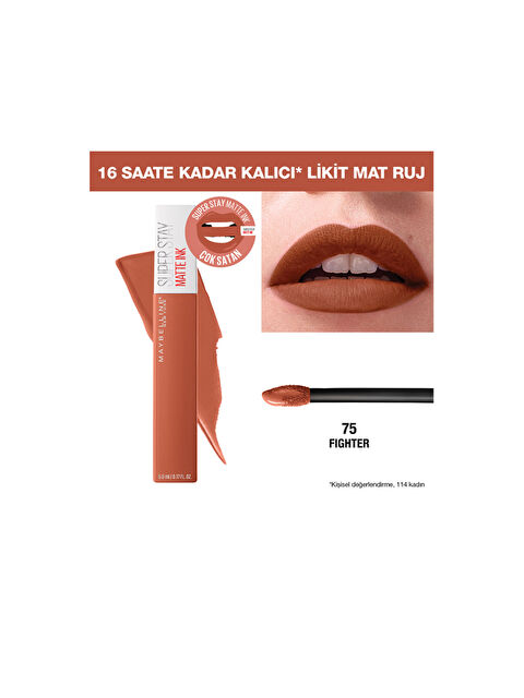 Maybelline New York Super Stay Matte Ink Likit Mat Ruj - Markalar