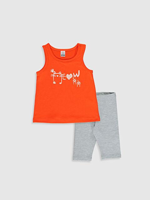 Kız Bebek Atlet ve Tayt - LC WAIKIKI