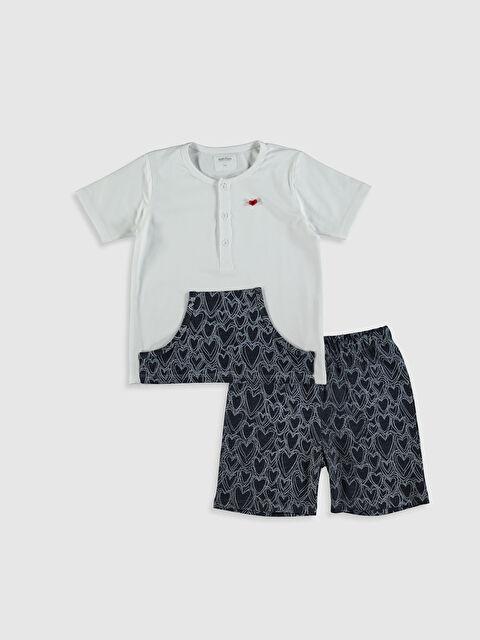 Antebies Organik Pamuklu Kız Çocuk Pijama Takımı - Markalar