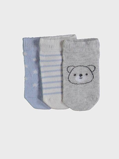 Erkek Bebek Patik Çorap 3'lü - LC WAIKIKI