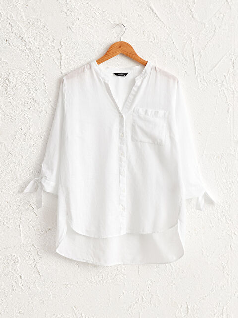 Cep Detaylı Pamuklu Gömlek - LC WAIKIKI